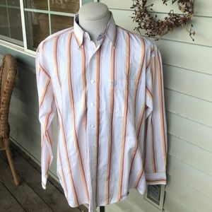 Wrangler George Strait Button Down Shirt.  Large.